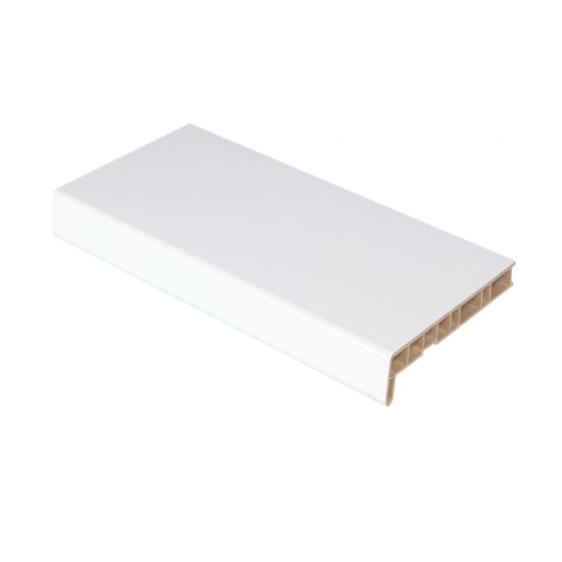 Подоконник ПВХ 200мм Белый (2п.м)