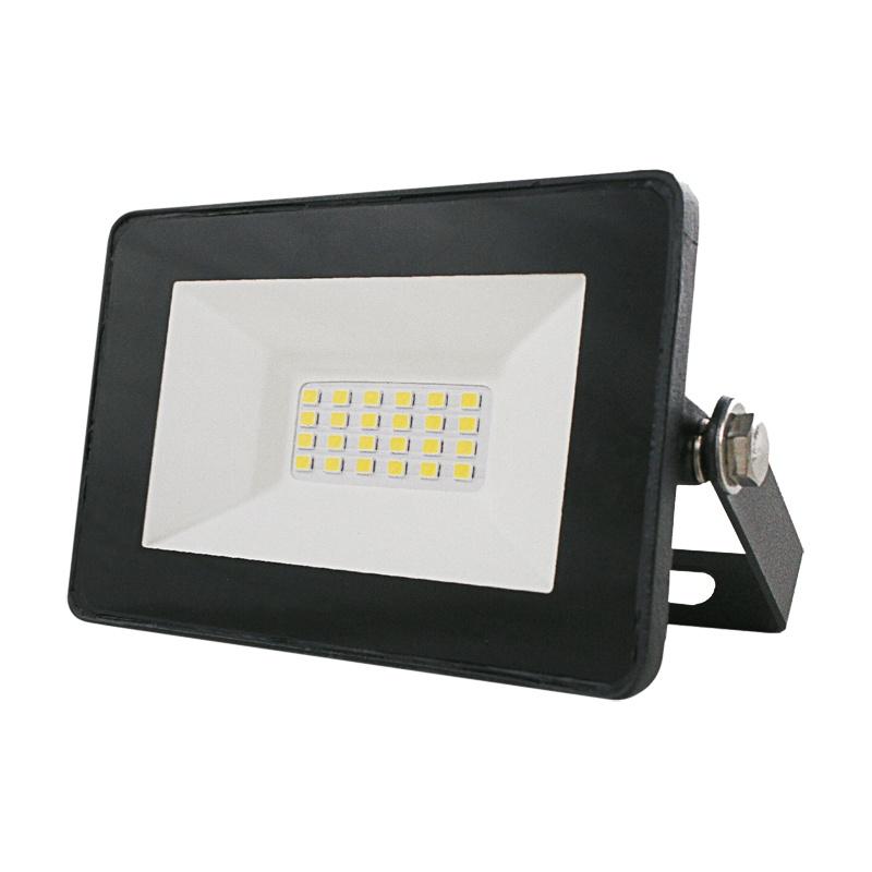 Прожектор светодиодный 20Вт, 230В, 6500K, IP65, алюм.корпус