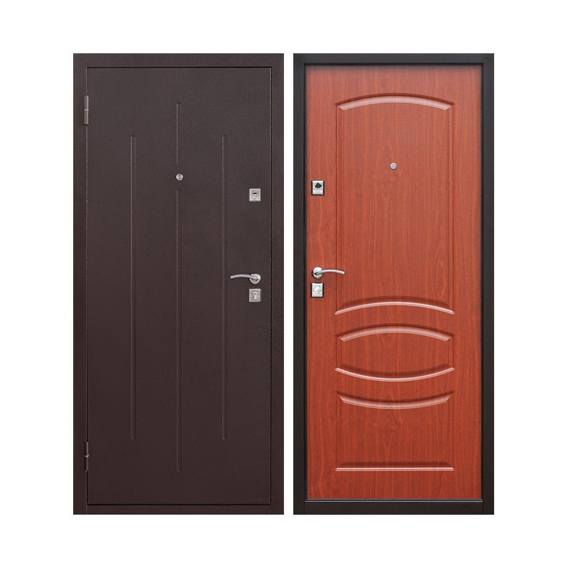 Дверной блок металл. стандарт, Стройгост 7-2, 960х2050 левый
